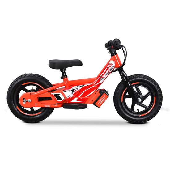 AMPED A10 ELECTRIC BALANCE BIKE - RED